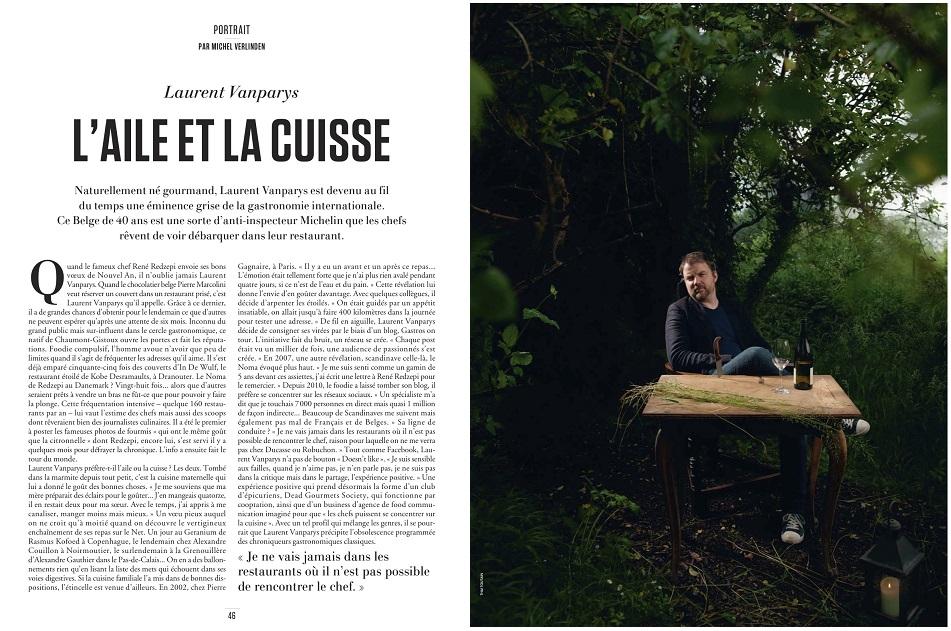 LVP Le Vif Weekend double page
